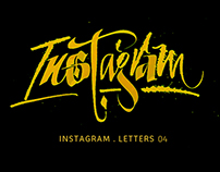 INSTAGRAM Letters 04