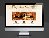 Website - Paróquia Santa Luzia