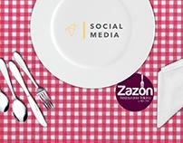 Social Media Zazón Restaurante