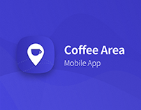 Coffee Area - Mobile App and Illustrations
