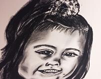 Brody Vega Charcoal Portrait