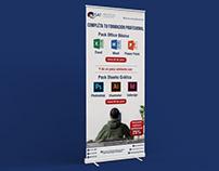 Banners para cursos de extensión - ISAT