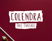 Colendra // free typeface