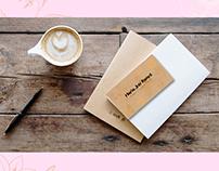 photographer personal card, logo & corporate branding