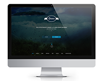 'OCEAN' Website Design