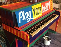 Play your heart out! Public Piano Project