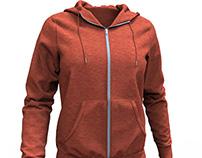 Dynamic 3D Hoodie Marvelous Designer Clothing