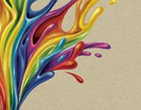 illustration // schoolbook cover