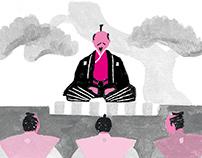Book「英語で語る 日本事情2020」挿絵 2017年