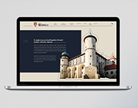 Nowy Wisnicz Castle - Logo and web design