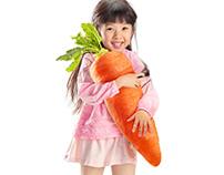 Big vegetables