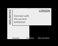 Experimental London Exhibition - Visual Identity