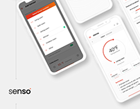 Sensor Mobile application design - Senso