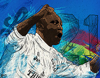 The Square Ball - Tony Yeboah Illustration