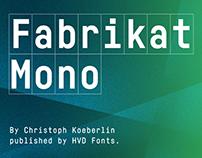 Fabrikat Mono (Typefamily)
