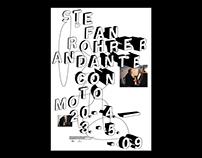 Andante Con Moto – Exhibition poster