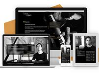 DavidHolyoake.com UX/UI Redesign
