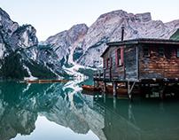 Pragser Wildsee. Lago di Braies