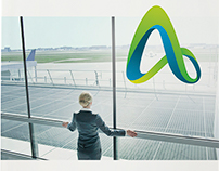Annual Report concept for Adelaide Airport