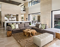 Home in Henderson by Blue Heron Design-Build