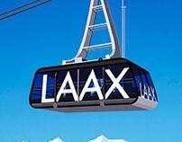 Laax Ski Resort Poster