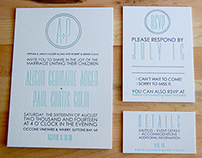 Alison & Paul's Wedding Invitations