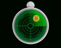 Dragon Ball Radar gif