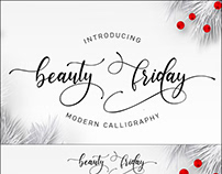 Beauty Friday Script Font Free Download.