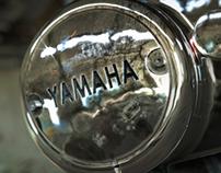 Yamaha XS650 Motorcycle Engine