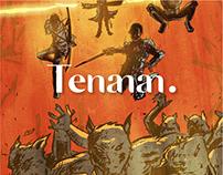 Illustration for Tenanan Zine Vol. 2