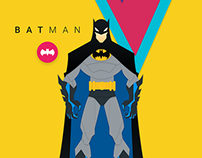 Batman Material Poster