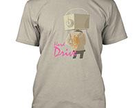 """Hard Drive"" Tshirt Design"
