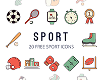 Sport Vector Free Icon Set