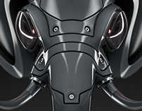 Robot elephant mask