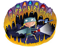 Batgirl's birthday