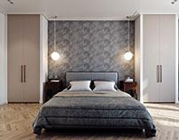 Bedroom Design Architectural Rendering