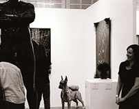Art exhibition photo-documentary