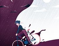 Illustration - Cycling