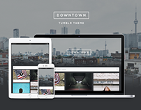 Downtown - Responsive Grid Tumblr Theme