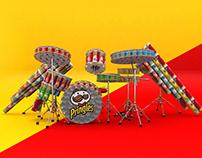 Pringles Drum-Off Challenge