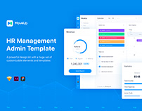 MoveUp - HR Management Admin Template