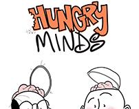 HUNGRY MINDS Innovation Doodle.
