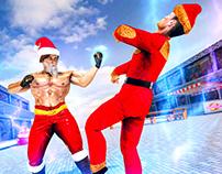 Santa Fighting Games 2020