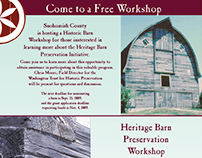 Heritage Barn Workshop Invitation
