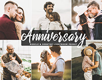 Free Anniversary Mobile & Desktop Lightroom Preset