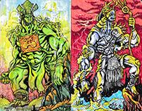 Inktober 2017: Vietnamese Gods and Monsters
