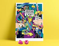 creative management camp