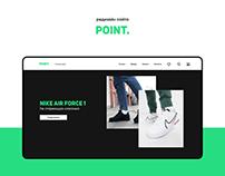 Редизайн интернет-магазина Point