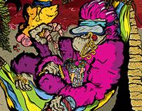 Hardcore Koper / 12th Anniversary Gig Poster