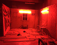 Red Light Set Design